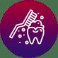 Icône Temps de brossage de dents