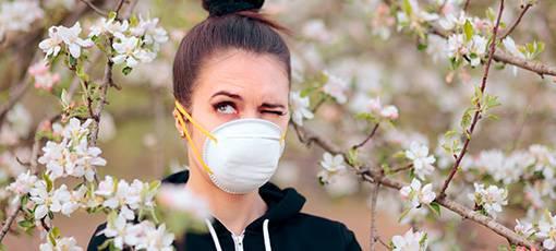 Patiente atteinte d'asthme sévére