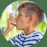 Traitement de fond et asthme